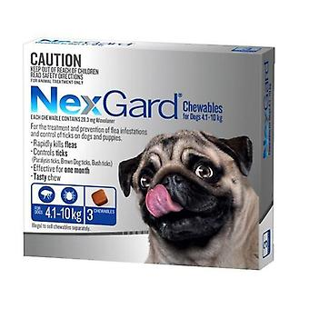 NexGard 3 Pack for Dogs 4-10 kgs