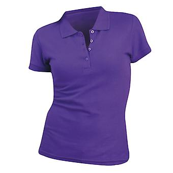 SOLS Womens/Ladies People Pique Short Sleeve Cotton Polo Shirt