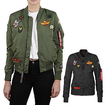 Alpha industries Jacket Women's MA-1 TT patch II Wmn