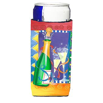 العازلة المشروبات سنة الاحتفال نخب Michelob الترا الجديدة لعلب ضئيلة