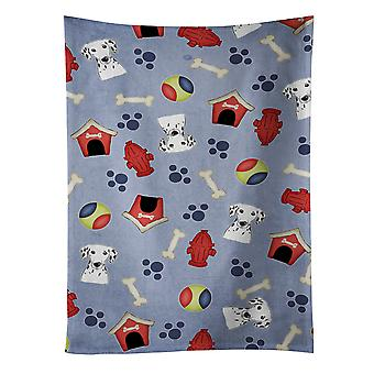 Carolines Treasures  BB3989KTWL Dog House Collection Dalmatian Kitchen Towel