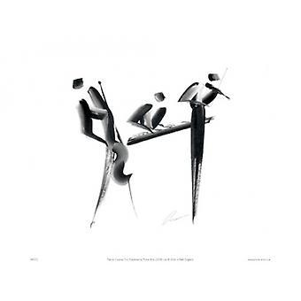 Trio Poster Print by Patrick Ciranna (16 x 12)