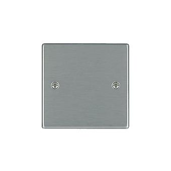 Hamilton Litestat Hartland Satin Stainless Single Blank Plate
