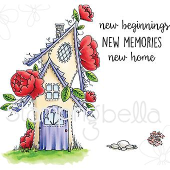 Stamping Bella Tiny Townie Cling Stamp Set-Fairy Garden House EB530