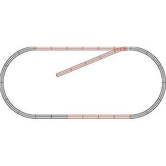 H0 Roco GeoLine (incl. track bed) 61101 Expansion set