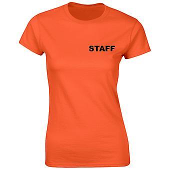 Staff Workwear Womens T-Shirt 8 Colours by swagwear