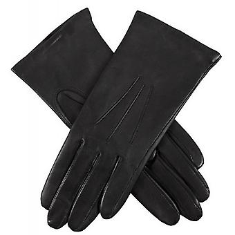 Dents Isabelle Cashmere Lined Hairsheep Leather Gloves - Black