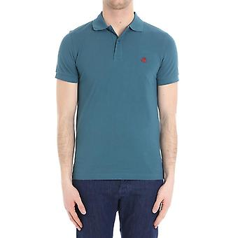 Brooks Brothers men's 100036268 green cotton polo shirt