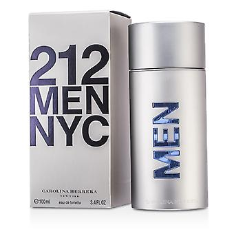 Carolina Herrera 212 NYC Eau De Toilette Spray 100ml / 3.4 oz