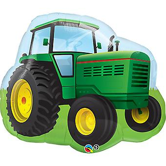Qualatex 34 Inch Farm Tractor Shaped Foil Balloon