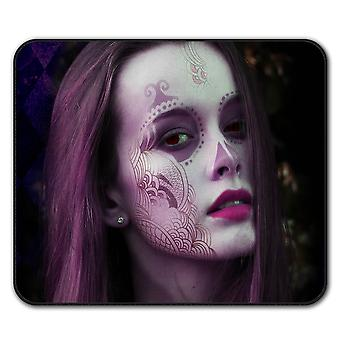 Mystic Girl Cool Fashion  Non-Slip Mouse Mat Pad 24cm x 20cm | Wellcoda