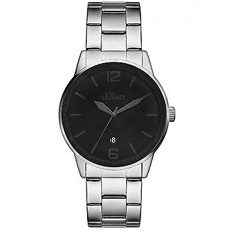 s.Oliver Herren Uhr Armbanduhr SO-3098-MQ