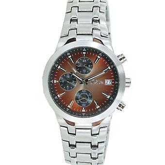 s.Oliver メンズ腕時計アナログ クオーツ クロノグラフ腕時計など-15054-MQR