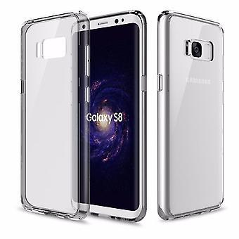 Original ROCK silicone case bag transparent / grey for Samsung Galaxy S8 plus G955 G955F