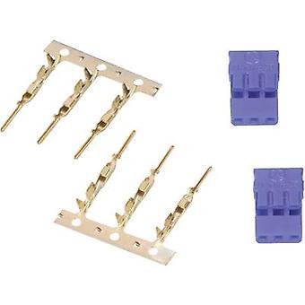 Modelcraft Servo socket loose JR 1 pair