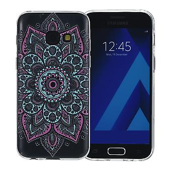 Henna cover for Samsung Galaxy S9 case protective cover silicone colorful tattoo