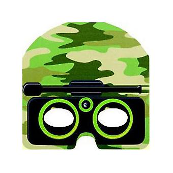 Unique Party Military Camo Face Masks (Pack Of 8)