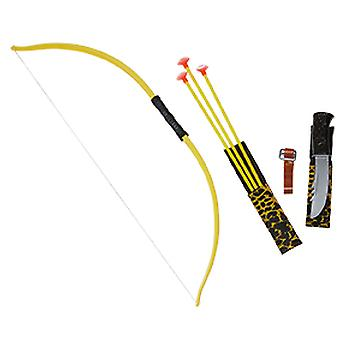 Bow and arrow set child bow quiver and 3 arrows accessory Carnival