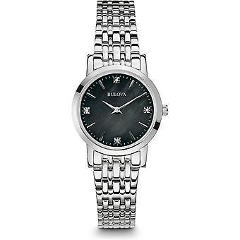 Bulova ladies watch of classic diamond 96P148
