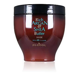 Kleral Rich Argan & Shea Butter Hair Mask 500ml