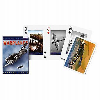 Krigsfly sæt spillekort