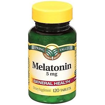 Spring Valley Melatonin 5 mg Tablets 120 Count Bottle