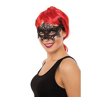 Lace Eyemask Ribbon Tie Cat