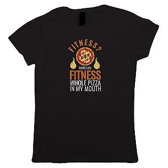 Fitness Pizza, Womens T Shirt