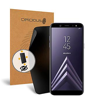 Celicious Privacy Plus 4-Way Anti-Spy Filter Screen Protector Film Compatible with Samsung Galaxy A6
