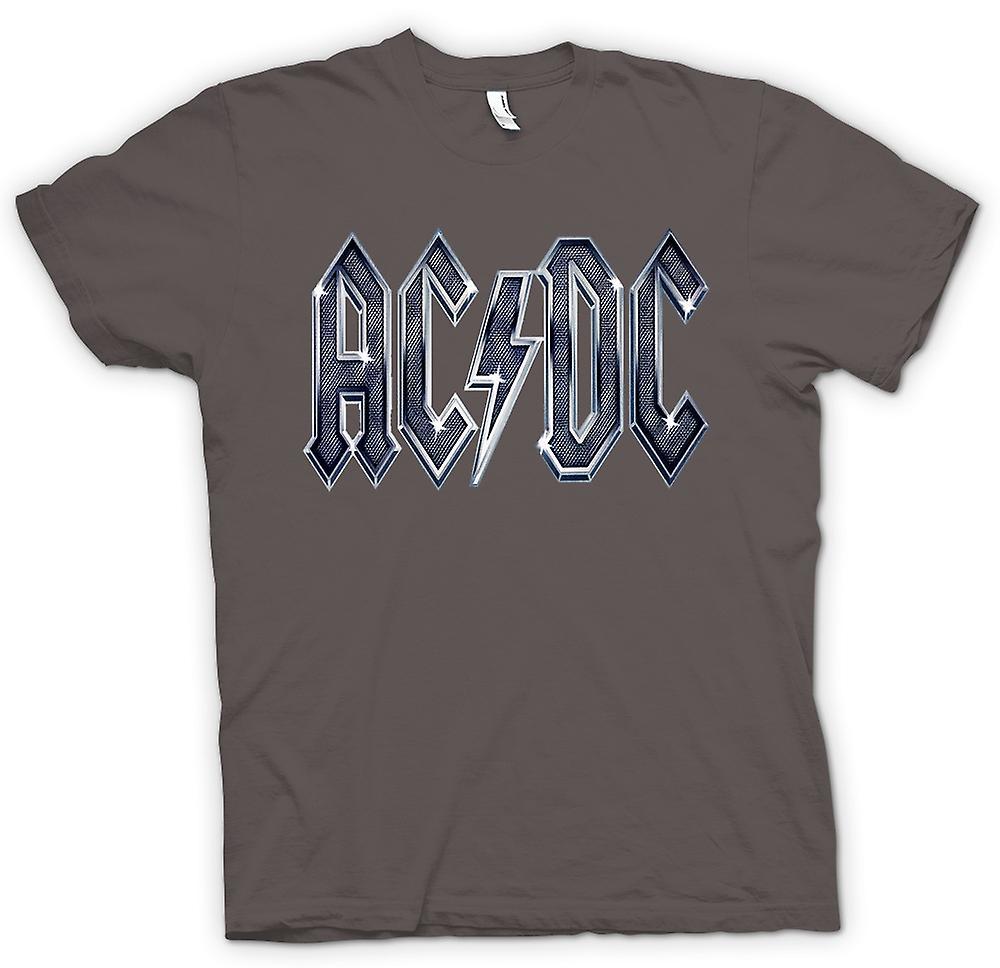 Hommes T-shirt - AC / DC Mettalic Logo - Rock