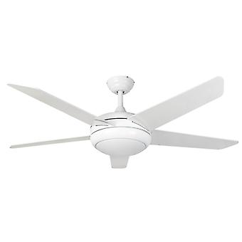 Ceiling Fan Neptune White with LED and Remote