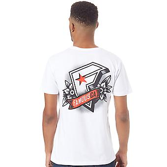 Famous Stars and Straps White CA T-Shirt