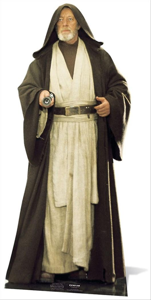 Obi-Wan Kenobi Alec Guinness Star Wars Lifesize kartong släppandet / stående / Standup