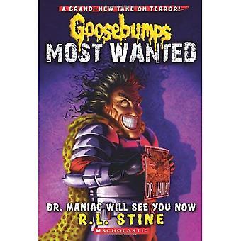 Kippenvel Most Wanted #5: Dr. Maniac ziet u nu
