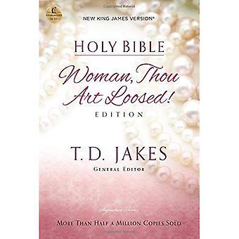 Bíblia Sagrada: Nova versão King James, a mulher que tu és libertado (Bíblia NVI)