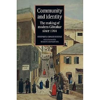Wspólnoty i tożsamości: proces powstawania nowoczesnych Gibraltar od 1704
