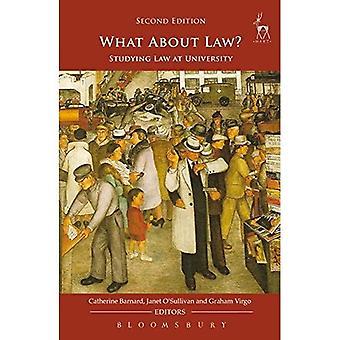 Hoe zit het met recht?: recht aan de universiteit studeren