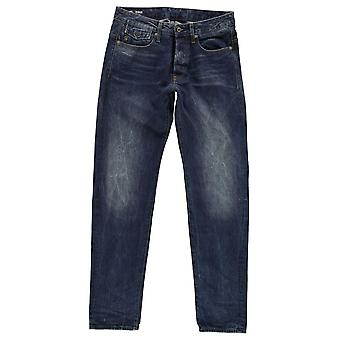 G Star Mens Riban Tapered Jeans