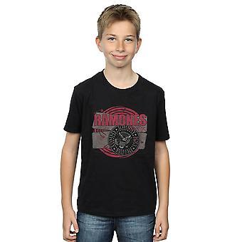 Ramones garçons Patch Punk T-Shirt