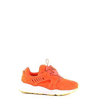 PUMA Orange Stoff Sneakers