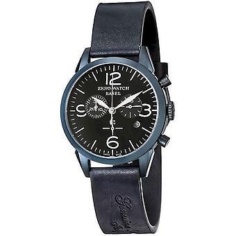 Zeno-watch mens watch vintage line chronograph blue 4773Q-bl-i1
