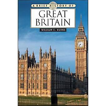 En kort historia av Storbritannien av William E. Burns-9780816081240