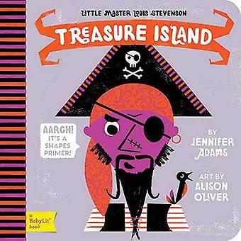 Little Master Louis Stevenson - Treasure Island - A Shapes Primer by Je