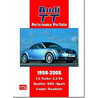 Audi TT Performance Portfolio 1998-2006 - A Collection of Articles Cov