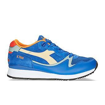 Diadora Light Blue Leather Sneakers