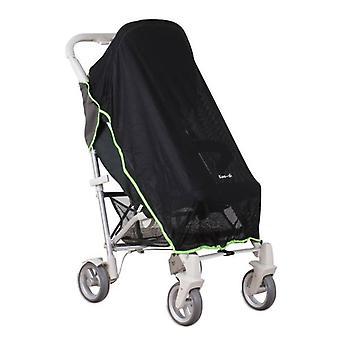 Koo-di Pack-det sol og søvn cover-Charcoal-grønn mesh Packet
