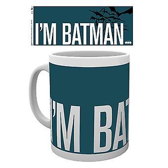 Batman serier jag är Batman enkel Boxed dricka mugg