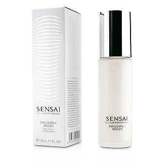 Kanebo Sensai cellulära prestanda emulsion II-fuktig-50ml/1.7 oz