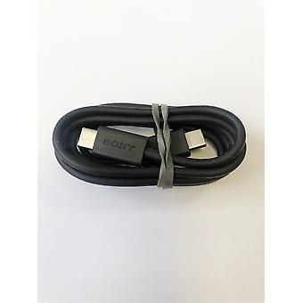 Originele officiële Sony UCB24 USB type C naar USB type C data opladen kabel-zwart (bulk verpakt)