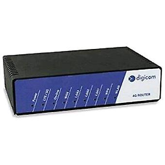 Digicom 8d5858 router inalámbrico 4g/lte y hspa +